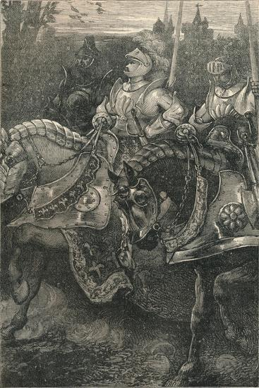 Otterburn - the Advance of Hotspur, (138), C1910--Giclee Print