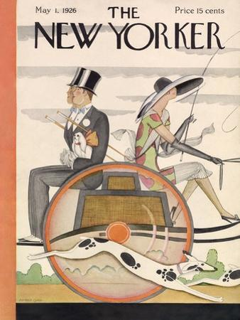 The New Yorker Cover - May 1, 1926 by Ottmar Gaul