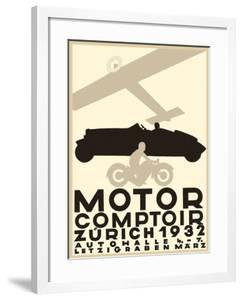 Motor Comptoir Zurich - Letzigraben Auto Car Hall by Otto Baumberger
