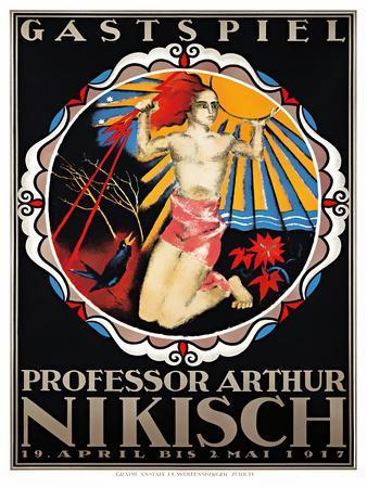 Professor Arthur Nikisch / Guest Performance , 1917