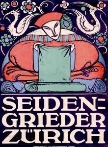 Seiden-Grieder, Zurich by Otto Baumberger