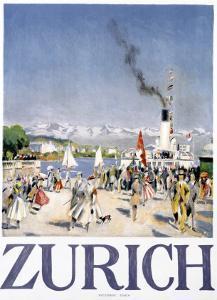 Zurich by Otto Baumberger