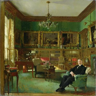 Otto Beit in His Study at Belgrave Square, 1913-Sir William Orpen-Giclee Print