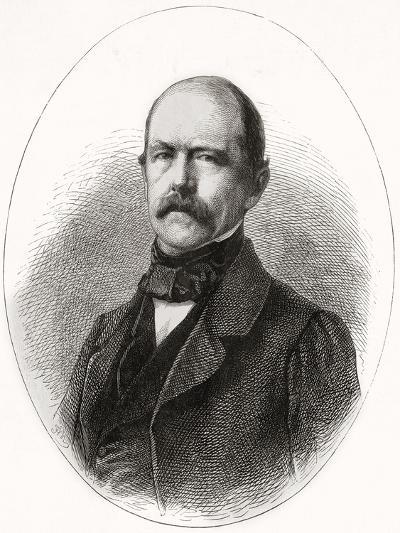 Otto Eduard Leopold, Prince of Bismarck, Duke of Lauenburg, from 'L'Univers Illustré', 1866--Giclee Print