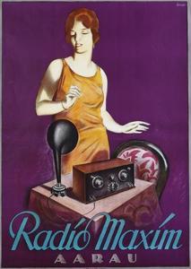 Radio Maxim Poster by Otto Ernst