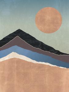 Mountain Sunset by Otto Gibb