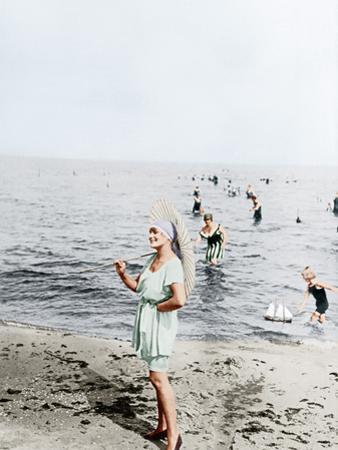 Fashion/ Swimwear, 1918 by Otto Haeckel