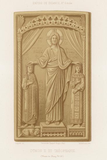 Otto II and Theophanu--Giclee Print