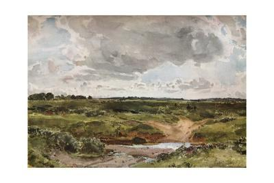 'Southwold Common in August', c1889
