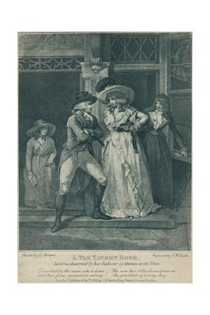 'The Tavern Door: Laetitia Deserted By Her Seducer is Thrown on the Town', 1789