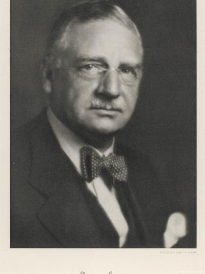 Otto Loewi American Pharmacologist Born in Germany--Photographic Print