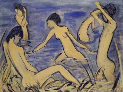 Bathers, 1913