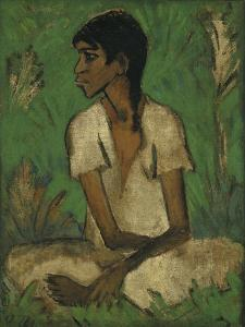 Gypsy by Otto Mueller