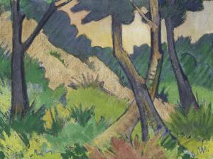 Landschaft III by Otto Mueller