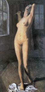 Lucretia, or the Nude Murderess, C.1903 by Otto Mueller