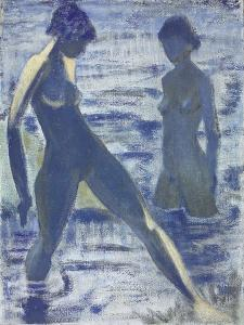 Bathers, C. 1927 by Otto Muller