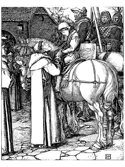 Otto of The Silver Hand-Howard Pyle-Premium Giclee Print