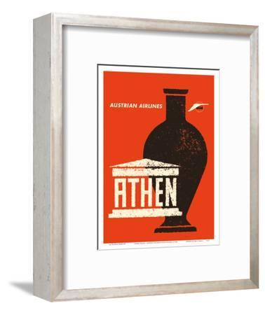 Athens (Athen) Greece - Ancient Greek Amphora - Austrian Airlines