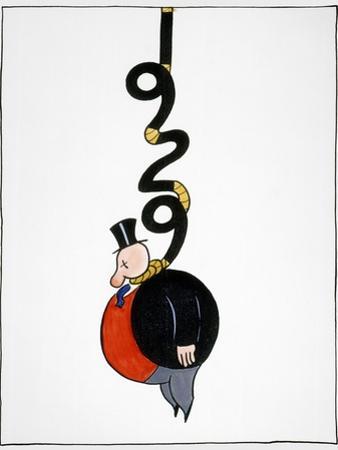 Depression Cartoon by Otto Soglow