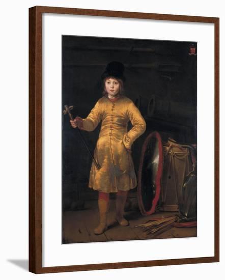 Otto Van Der Waeyen in a Polish Costume, 1656-Ferdinand Bol-Framed Giclee Print