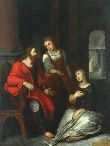 Christ in the House of Mary and Martha, 1556 by Otto van Veen