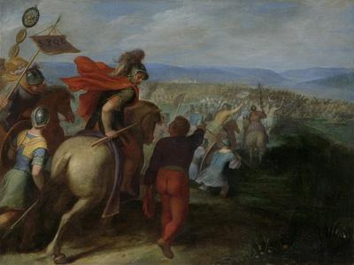 Romans Nearly Overpower the Army of Julius Civilis Through the Treachery of a Batavian
