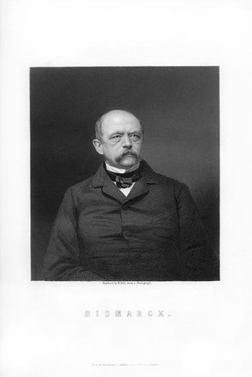 Otto Von Bismarck, Duke of Lauenburg, German Statesman, 1893-W Holl-Giclee Print