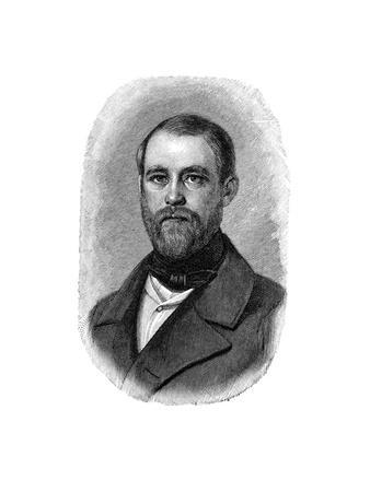 Otto Von Bismarck German Statesman, When Conservative Deputy and Inspector of Dykes, 1850--Giclee Print