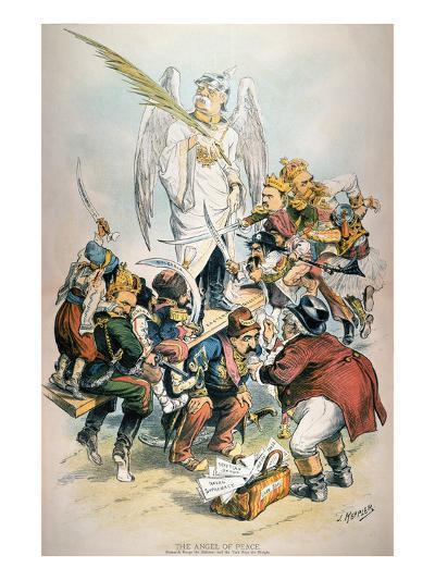 Otto Von Bismarck-Joseph Keppler-Giclee Print