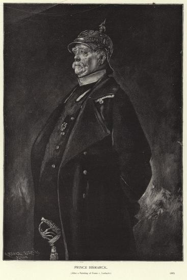 Otto Von Bismarck-Franz Seraph von Lenbach-Giclee Print