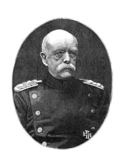 Otto Von Bismark, 19th Century German Statesman- Loescher and Petsch-Giclee Print
