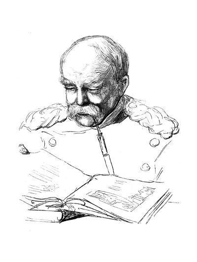 Otto Von Bismark, German Statesman, 1877-A von Werner-Giclee Print