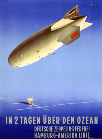 In 2 Tagen Uber Den Ozean by Ottomar Anton