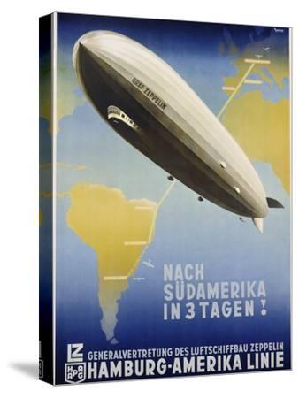 Nach Sudamerika in 3 Tagen! Poster