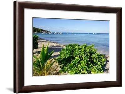 Oualie Beach, Nevis, St. Kitts and Nevis, Leeward Islands, West Indies, Caribbean, Central America-Robert Harding-Framed Photographic Print
