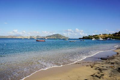 Oualie Beach, Nevis, St. Kitts and Nevis, Leeward Islands, West Indies, Caribbean, Central America-Robert Harding-Photographic Print