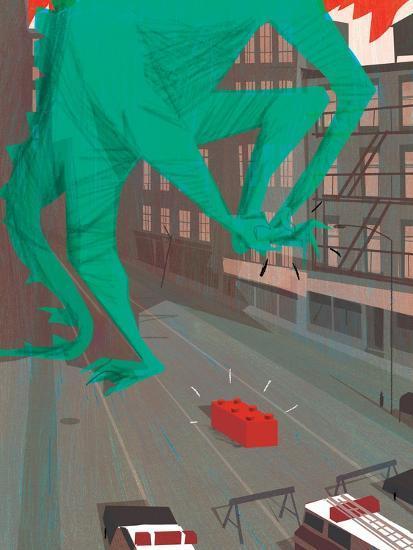Ouch!-A Richard Allen-Giclee Print