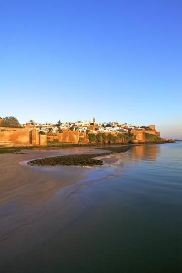 Oudaia Kasbah and Coastline, Rabat, Morocco, North Africa, Africa-Neil Farrin-Photographic Print