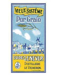 Oude Genever, Vieux Systeme Pur Grain