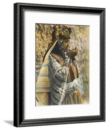 Ouled-Nahils, Algeria - Southern Algerian Woman--Framed Photographic Print
