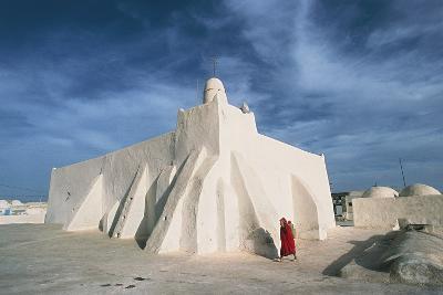 Oum El Turkia Mosque, El May, Djerba, Tunisia--Photographic Print
