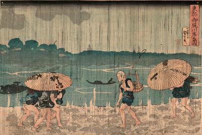 Oumayagashi No Zu-Utagawa Kuniyoshi-Giclee Print