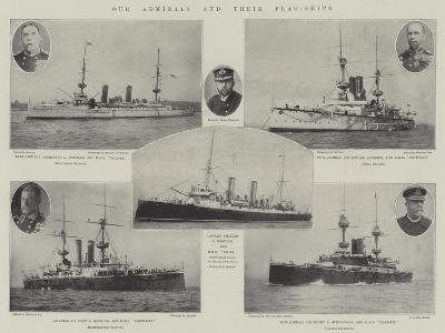 Our Admirals and their Flag-Ships--Giclee Print