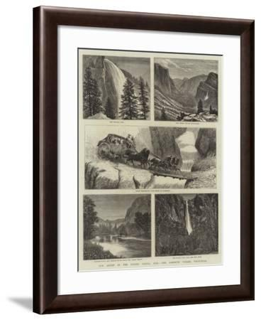 Our Artist in the United States, XVII, the Yosemite Valley, California--Framed Giclee Print