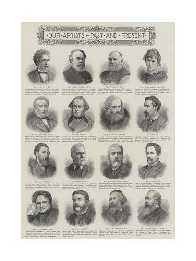 Our Artists, Past and Present--Giclee Print