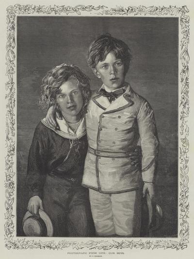 Our Boys--Giclee Print