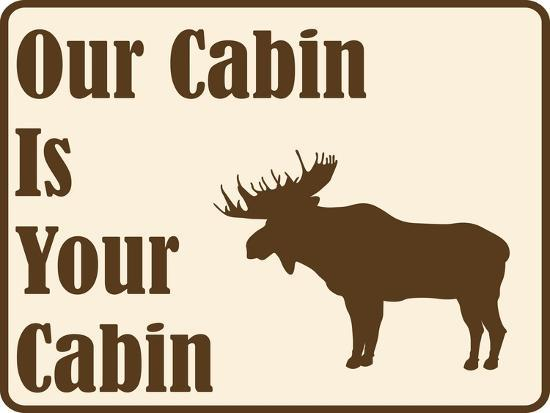 Our Cabin-Joanne Paynter Design-Giclee Print