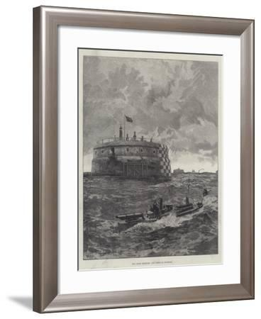 Our Coast Defences, the Forts at Spithead-William Heysham Overend-Framed Giclee Print
