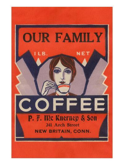 Our Family Coffee--Art Print