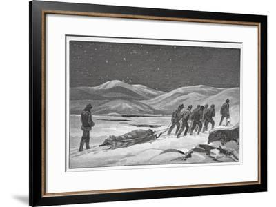 Our First Funeral, January 20, 1884, Pub London 1886-J. Steeple Davis-Framed Giclee Print